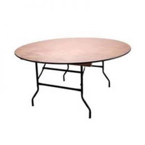 Red Pepper Events and Catering Hire - 6ft Round Table